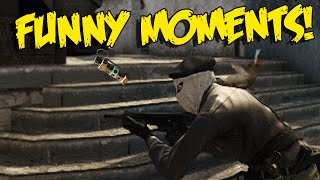 CS:GO FUNNY MOMENTS - BEST FLASHBANG KILL, DARUDE SANDSTORM DJ, NA CSGO (FUNTAGE)