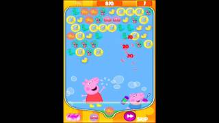 Bubble Fun for Peppa Pig App Review on iPad Air
