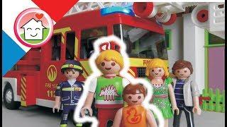 Film Playmobil Pompiers en français   - La Marque - La famille Hauser - film pour enfants