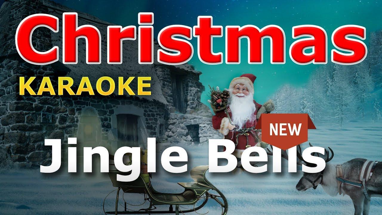 Christmas Songs - Jingle Bells KARAOKE with Lyrics - YouTube