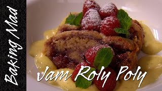 Baking Mad Monday: Jam Roly Poly