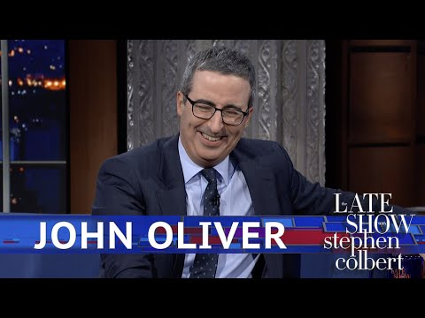 John Oliver Has Trouble Describing What Gives Him Hope