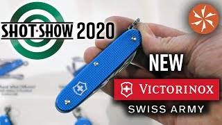 New Victorinox Swiss Army Knives at SHOT Show 2020 - KnifeCenter Coverage thumbnail