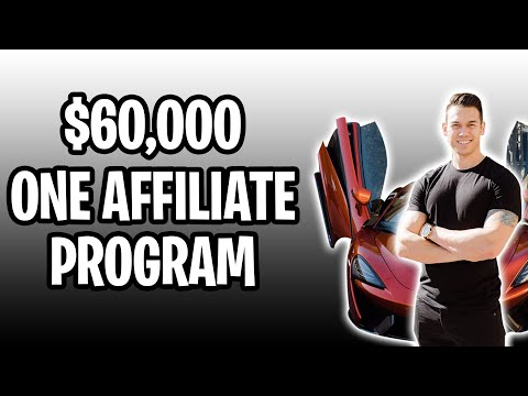 Affiliate Marketing | How I Made $60,000 From ONE AFFILIATE PROGRAM!