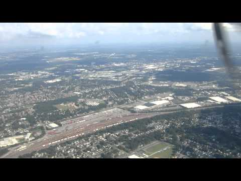 Landing at Norfolk International Airport, Norfolk, VA