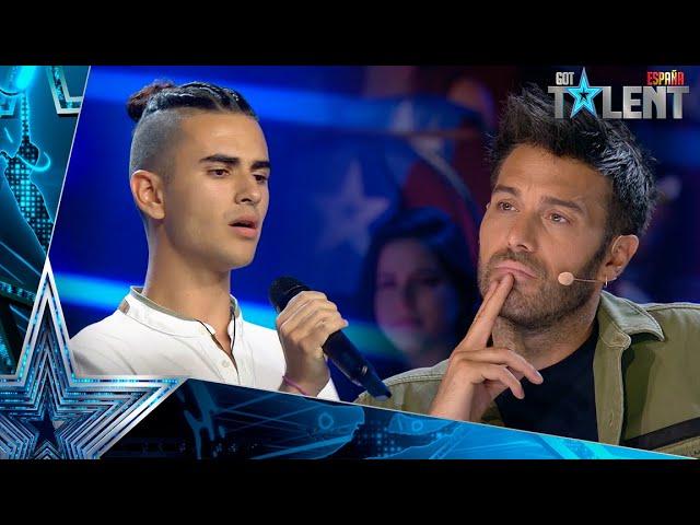 Este canario EMOCIONA a TODOS tras creer que no podría ganar  Audiciones 6   Got Talent España 2021