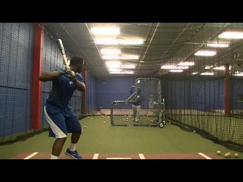 Troy Daring Jr - Indoor Batting Practice