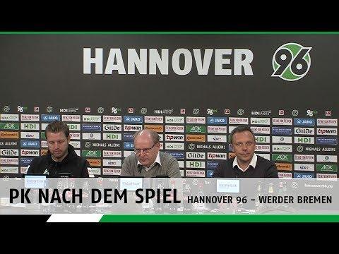 PK nach dem Spiel | Hannover 96 - SV Werder Bremen