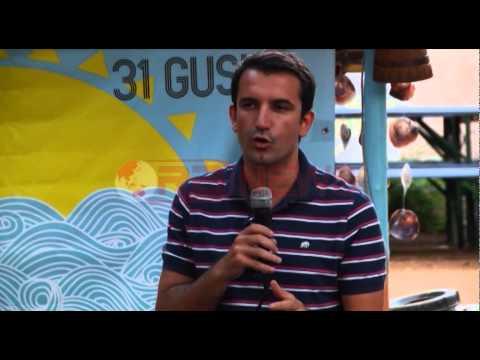 """Veliaj ndez """"ethet elektorale"""" me të rinjtë në Jalë- RTV Ora News- Lajmi i fundit-"""
