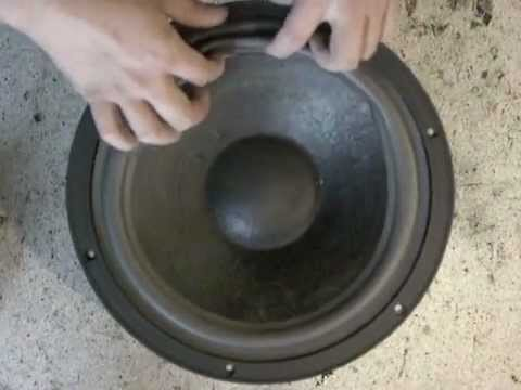 HOLLYWOOD SOUND LABS XPRO12 SUBWOOFER DRIVER
