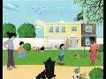 نص فهم المنطوق للسنة الرابعة الجيل الثاني . نظافة المدرسة