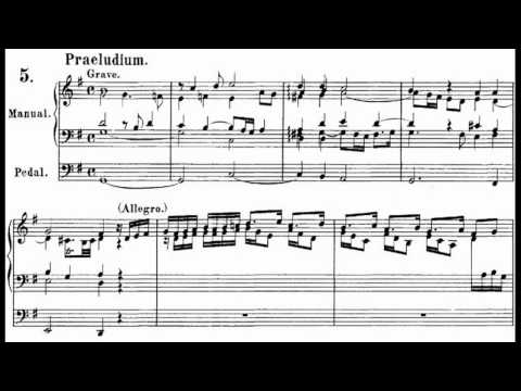 J. S. BACH: EIGHT SHORT PRELUDES AND FUGUES BWV 553-560(complete)
