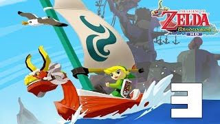 The Legend Of Zelda The Wind Waker! Capitulo 3!