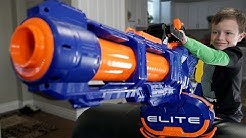 Nerf War: Gun BABY 15!