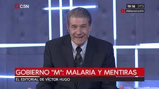 """El editorial de VHM - Gobierno """"M"""": Malaria y Mentiras"""