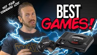 TOP 10 SEGA GENESIS GAMES!
