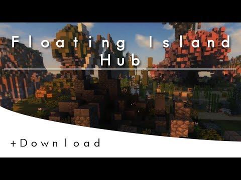 Minecraft Floating Island Hub | +Free Download
