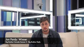 Jon Pardy - Big Brother Canada 2 Finale Interview