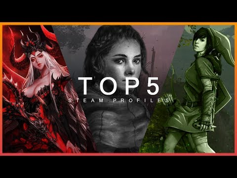 TOP 5 STEAM PROFILE PREVIEW - COOL ARTWORKS & ANIMATIONS 2020 #9