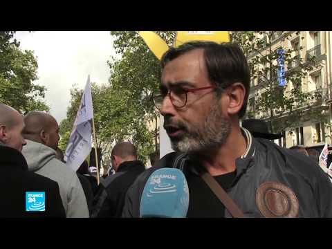 أكثر من 27 ألف عنصر أمن تظاهروا في شوارع باريس احتجاجا على ظروف عملهم  - 10:54-2019 / 10 / 3