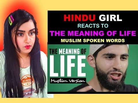 Download Lagu Hindu Girl Reacts to THE MEANING OF LIFE | MUSLIM SPOKEN WORD | HD | Reaction |