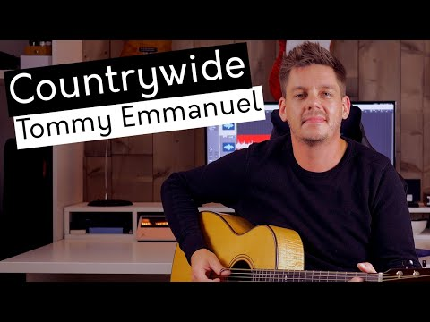 Countrywide - Tommy Emmanuel (cover by Tim Van Roy)