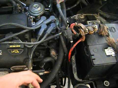 [2001 Ford Focus ZX3  How to] EGR valve removal  YouTube