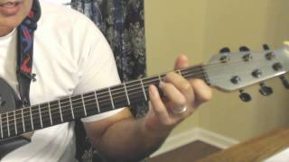 Guitar Tutorial - South City Midnight Lady - Doobie Brothers.wmv