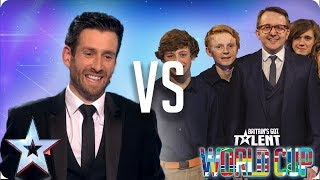 Jamie Raven vs Only Boys Aloud | Britain's Got Talent World Cup 2018