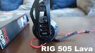 Plantronics RIG 505 Lava Review