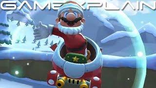 Mario Kart Tour: Winter Tour Trailer (Pink Gold Peach, Santa Mario, DK Pass)