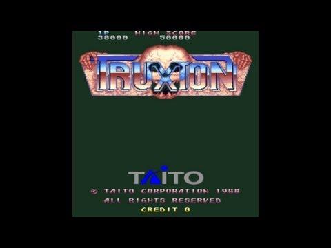 Truxton Part 1 of 3 1988 Taito Mame Retro Arcade Games