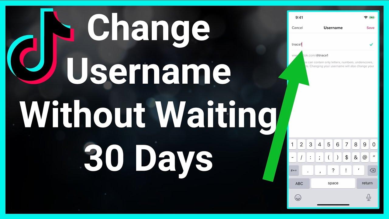 How To Change Tiktok Username Before 30 Days Youtube