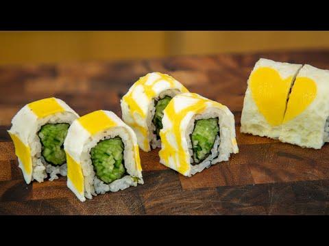 Egg Wrapping Sushi Ideas - Sushi Ideas #6