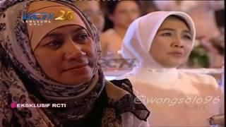 Amy Qanita menangis di pelukan Raffi | Momen Mengharukan saat Melly Goeslaw nyanyikan lagu