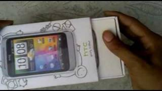 HTC Wildfire S Unboxing ( India ) - Budget Android Best Phone