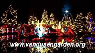 Christmas Lights, 1,400,000 Dancing Lights 2008,Vancouver,BC Canada