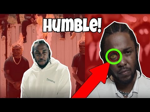 "6 Things You Didn't Notice in Kendrick Lamar's ""Humble"" Music Video! ✔✔"
