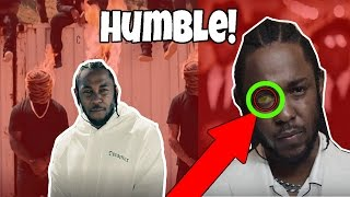 6 Things You Didn't Notice in Kendrick Lamar's 'Humble' Music Video! ✔✔