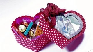 Caixa Romântica em EVA (Dia dos Namorados)