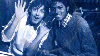 Michael Jackson Ft Paul Mccartney The Girl Is Mine With Lyrics