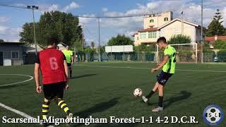 Xi sbordone league europa league quarti di finale scarsenal-mignottingham forest