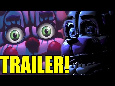 SISTER LOCATION TRAILER REACTION! - Five Nights at Freddy's Sister Location Trailer