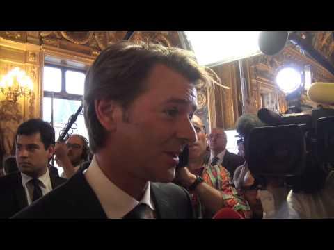 Sénatoriales 2014 : François Baroin vient d