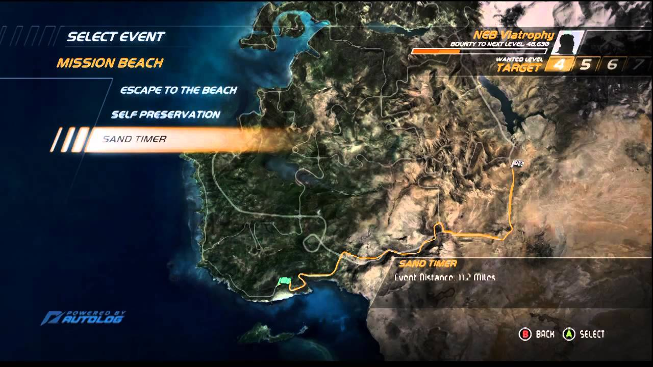 Need For Speed Hot Pursuit Multiplayer Menu Look Commentary