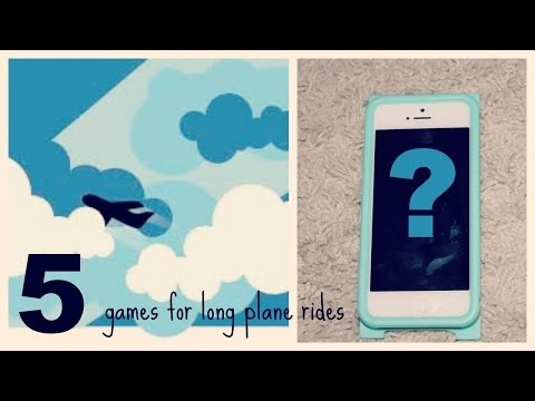5 Games For Long Plane Rides!
