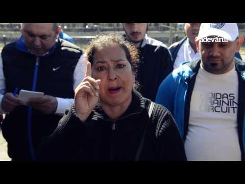 Floricica Dansatoarea s-a dat cu tehnocrații la protestul romilor