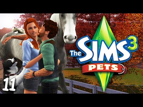 PETS // THE SIMS 3   PART 11 — Horse Breeding & Baby Chickens!