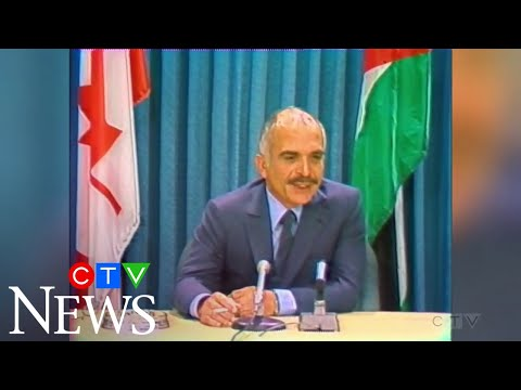 1981: Jordan's King Hussein visits Canada, meets with Pierre Trudeau