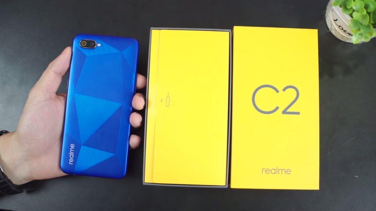 Mở hộp Realme C2 GIÁ SIÊU RẺ Pin cực trâu, hoàn thiện tốt